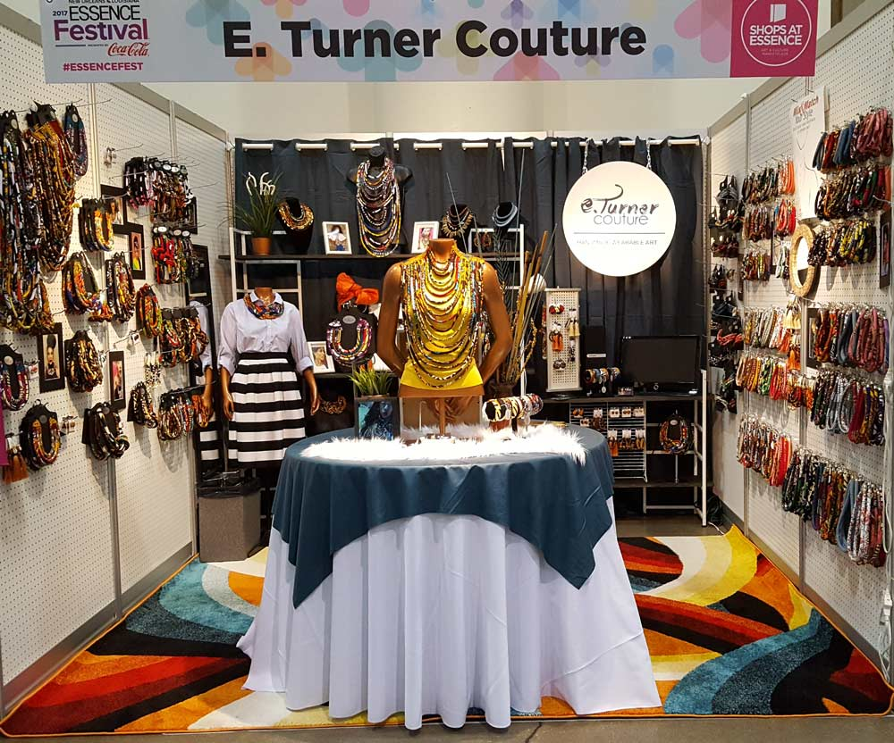 Essence festival booth