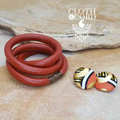 wrap leather bracelet