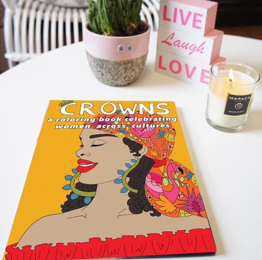 Crowns Coloring Books